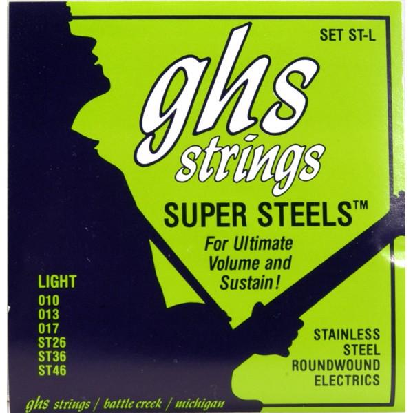 ELECTRIC BASS GUITAR STRINGS SUPER STEELS