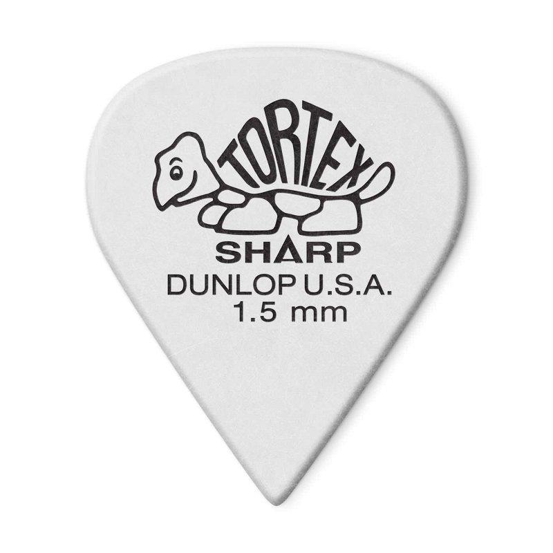 412P1.50 Tortex Sharp Медиатор, толщина 1,50мм