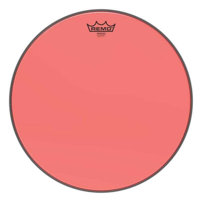 BE-0316-CT-RD Emperor® Colortone™ Red Drumhead, 16.