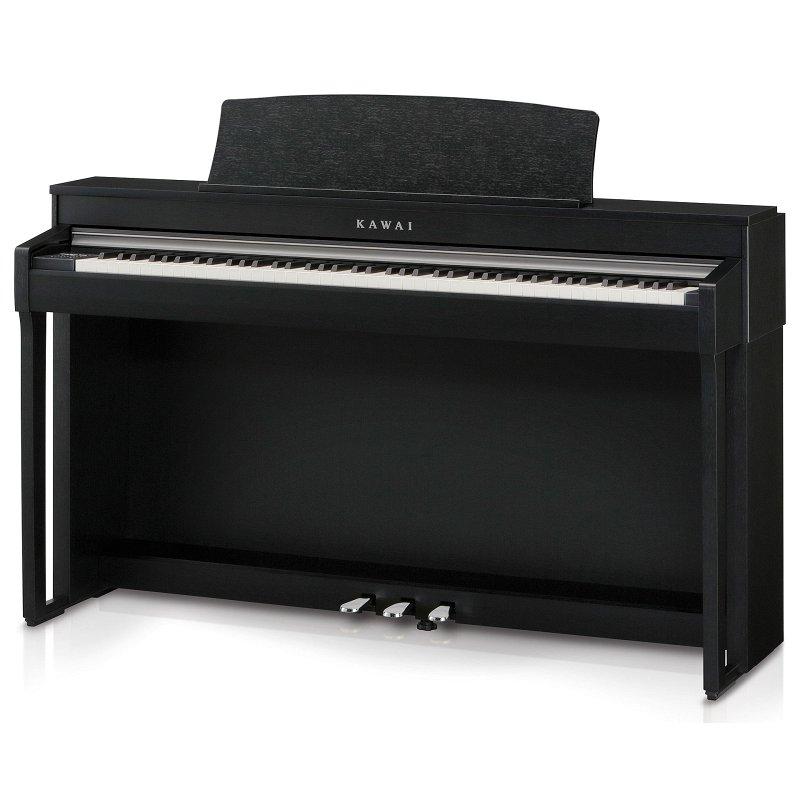 CN37B Цифровое пианино/чёрный сатин/клавиши пластик/механизм RH III/LCD дисплей с подсветкой