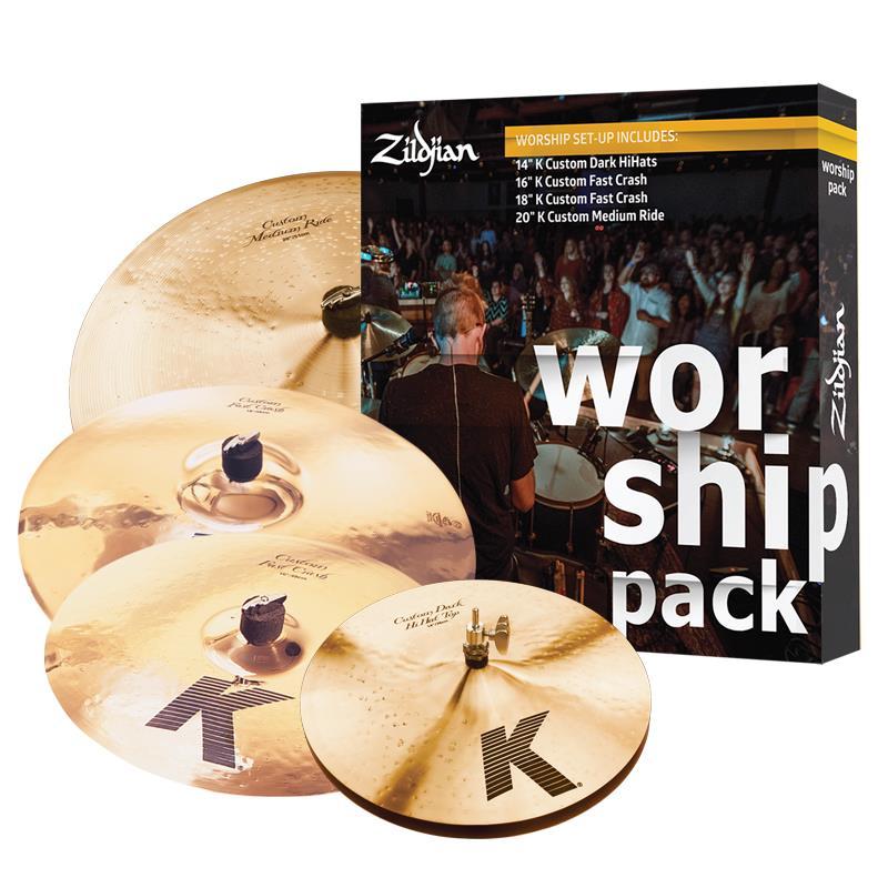 KC0801W K Custom Worship Cymbal Set