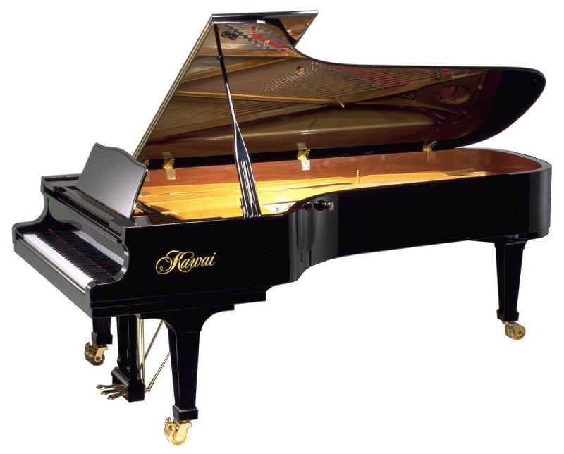 EX Большой концертный рояль/Длина 276см/Черный полир./Покрытие клавиш Neotex/Крышка SoftFall
