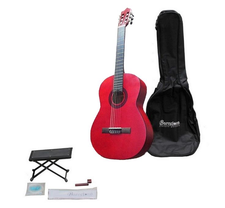 CG11K/RD - Набор:Классическая гитара, чехол, подставка, струны