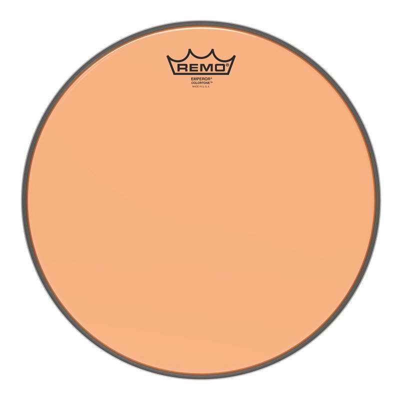 BE-0313-CT-OG Emperor® Colortone™ Orange Drumhead, 13.