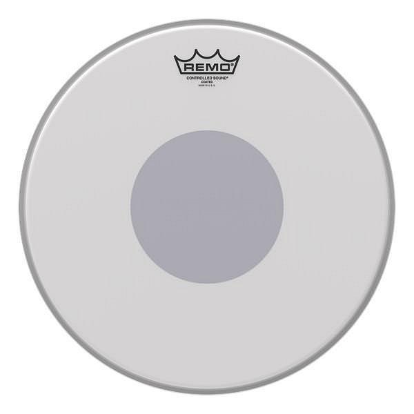 CS-0110-10- Batter, CONTROLLED SOUND®, Coated, 10` Diameter, BLACK DOT™ On Bottom