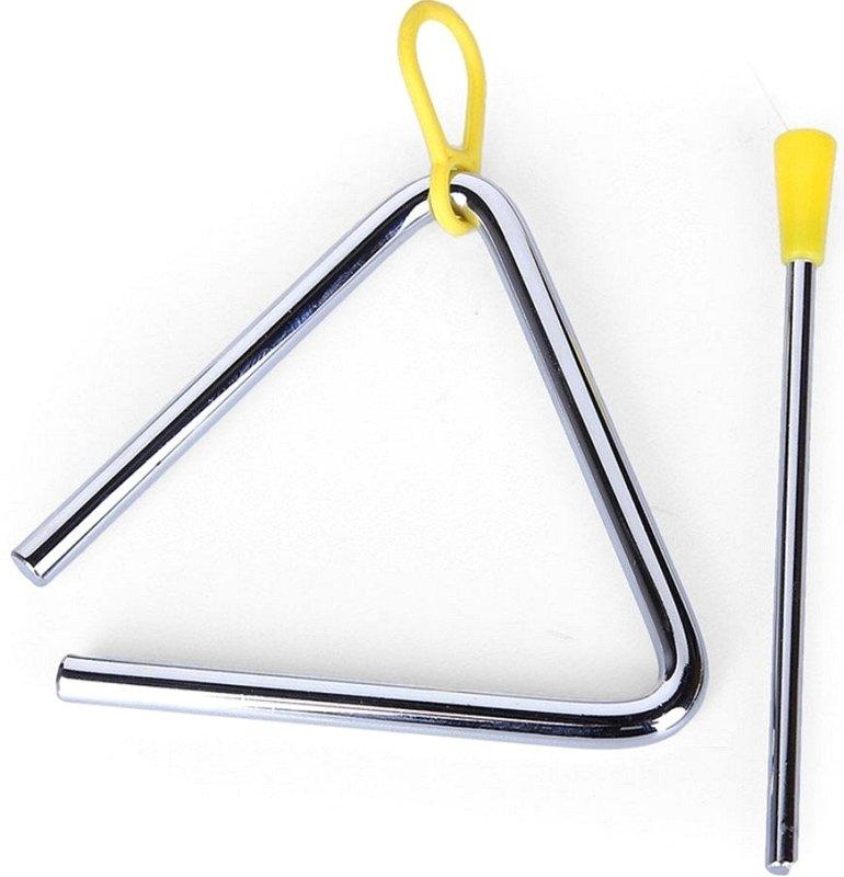 FLT-T06 Треугольник металлический диаметр 8мм, с палочкой