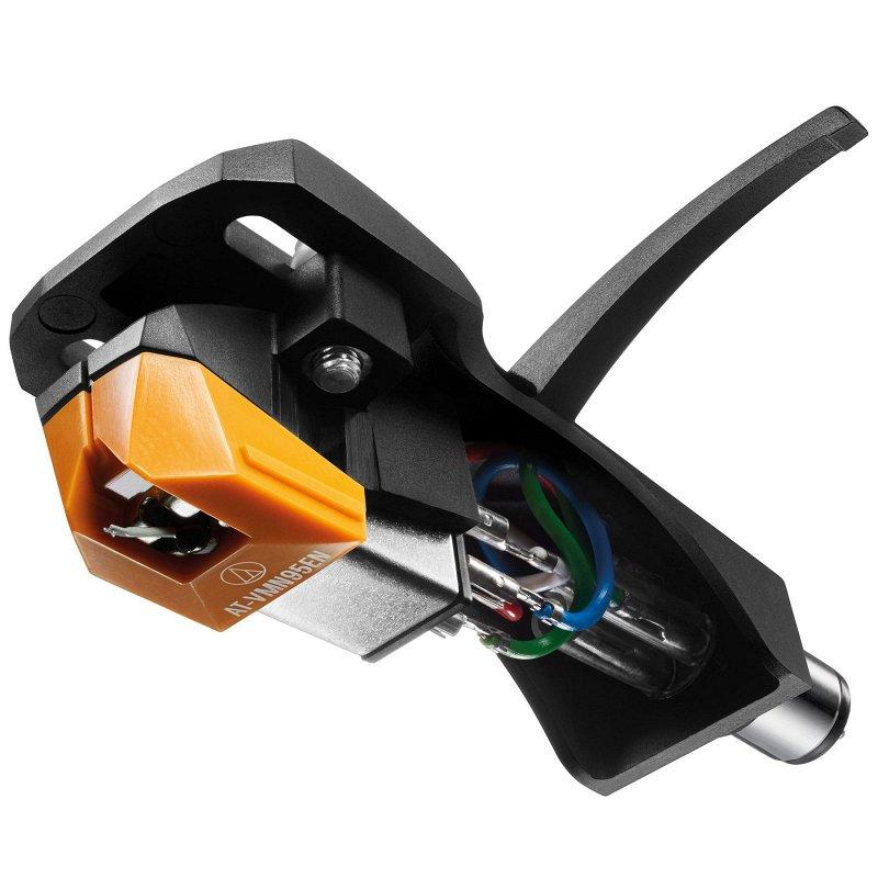 VM95EN/H Монолитная эллиптическая игла в комплекте с Хэдшеллом, цвет оранжевый