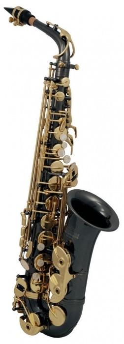 AS-202K Eb альт саксофон (черный лак)