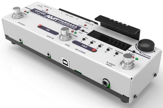 Electronics CP-100FX-S PANGAEA Эмулятор гитарного кабинета и процессор эффектов, стерео