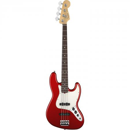 AM PRO Jazz Bass® Rosewood Fingerboard Candy Apple Red фото