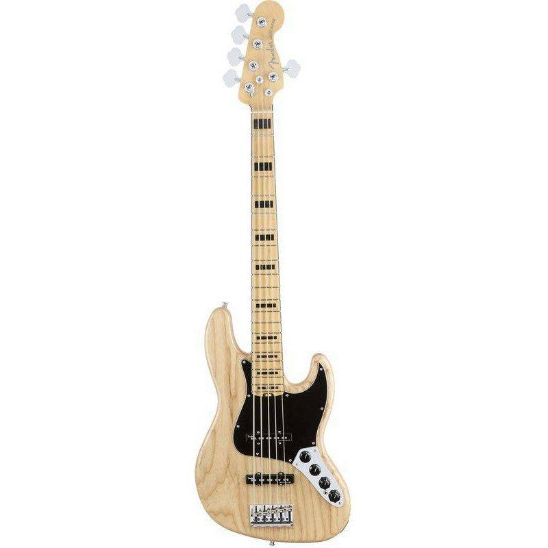 AM PRO Jazz Bass® Ash Maple Fingerboard Natural