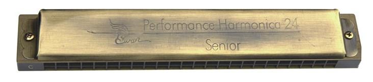 SW24-14 Губная гармошка тремоло