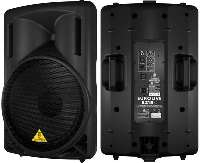 B215D, /,550 , Bi-amp , 15.