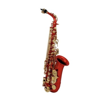 AS-202R Eb альт саксофон (красн. лак)