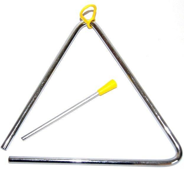 FLT-T08 Треугольник металлический диаметр 8мм, с палочкой