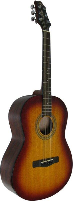 ST91/BS - Акустическая гитара, размер 3/4,мензура 23 1/4`, Nato,анкер,ключ. цв. sunburst