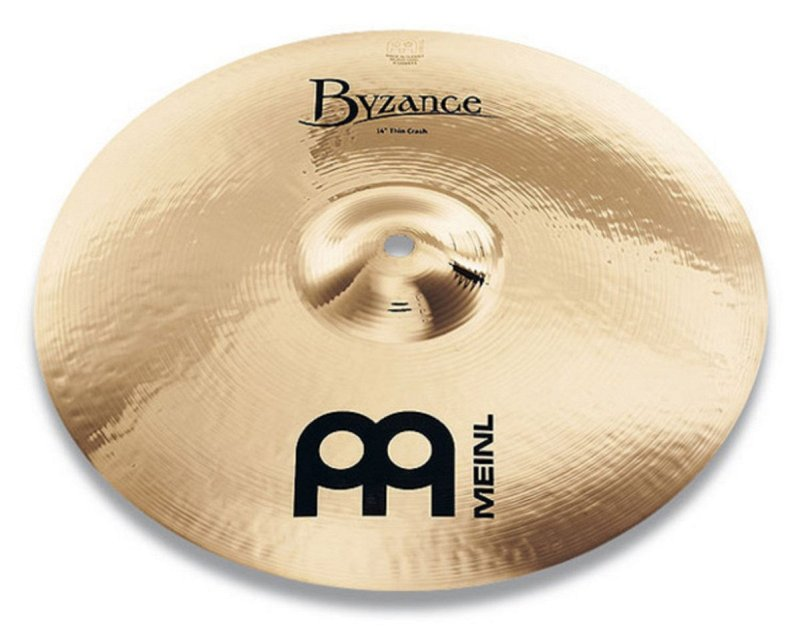 MEINL RUS B16MTC-B BYZANCE BRILLIANT MEDIUM THIN CRASH  фото