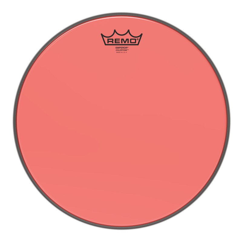 BE-0313-CT-RD Emperor® Colortone™ Red Drumhead, 13.