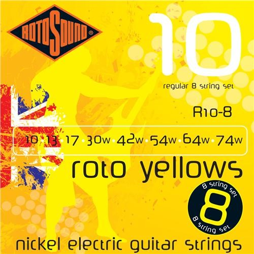 R10-8 8 STRING NICKEL SET