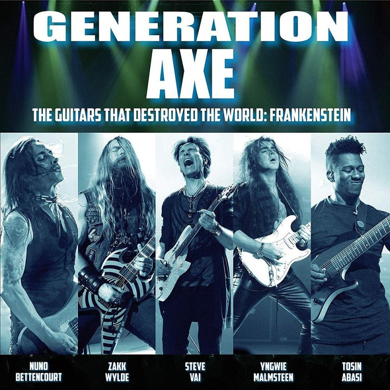 VARIOUS ARTISTS - Generation Axe: Guitars That Destroyed ( фото