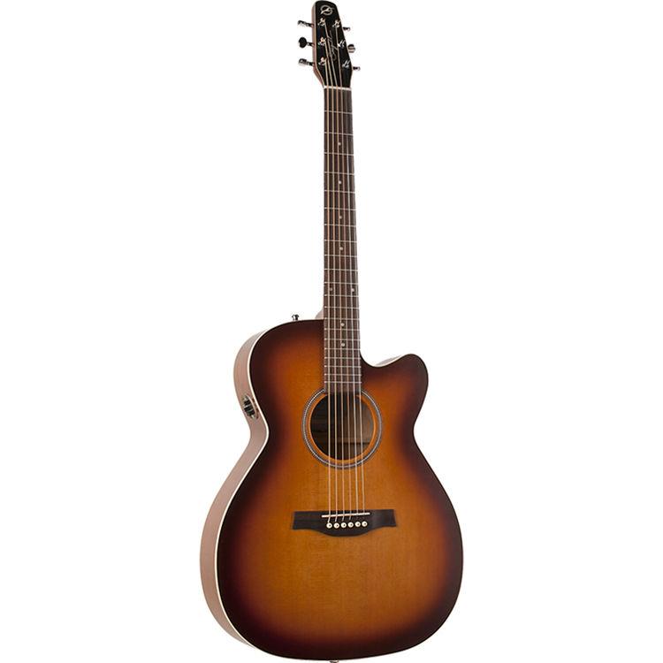 40414 Entourage Rustic CW Concert Hall QIT Электро-акустическая гитара, с вырезом