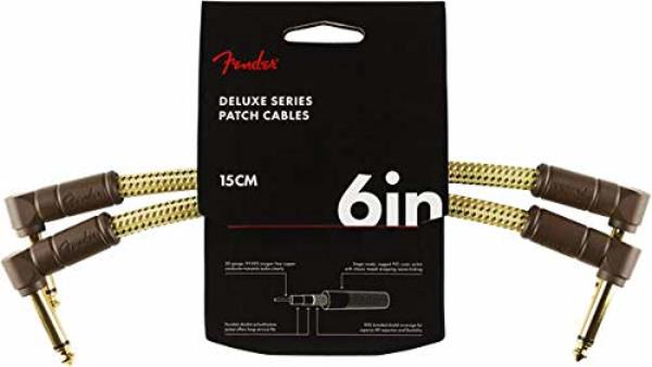 FENDER DELUXE 6` CABLE TWD 2 PACK