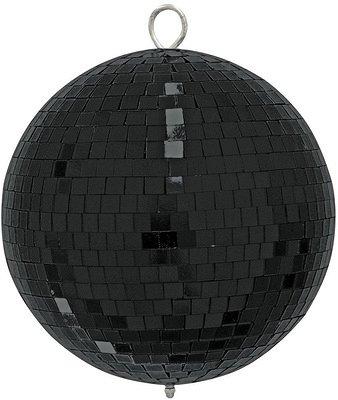 Light зеркальный шар черный 10 см