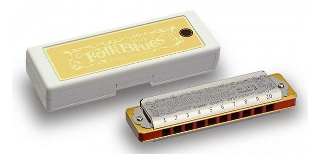 1210-G Folk Blues Mark-II G Губная гармошка