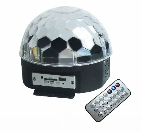 Light Led Crystal Ball MP3
