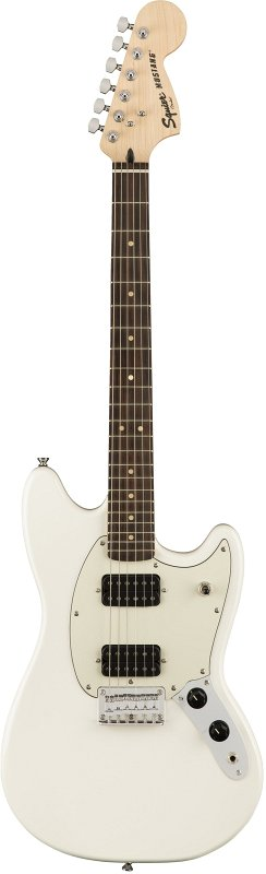 SQUIER FSR Bullet® Mustang® HH, Olympic White