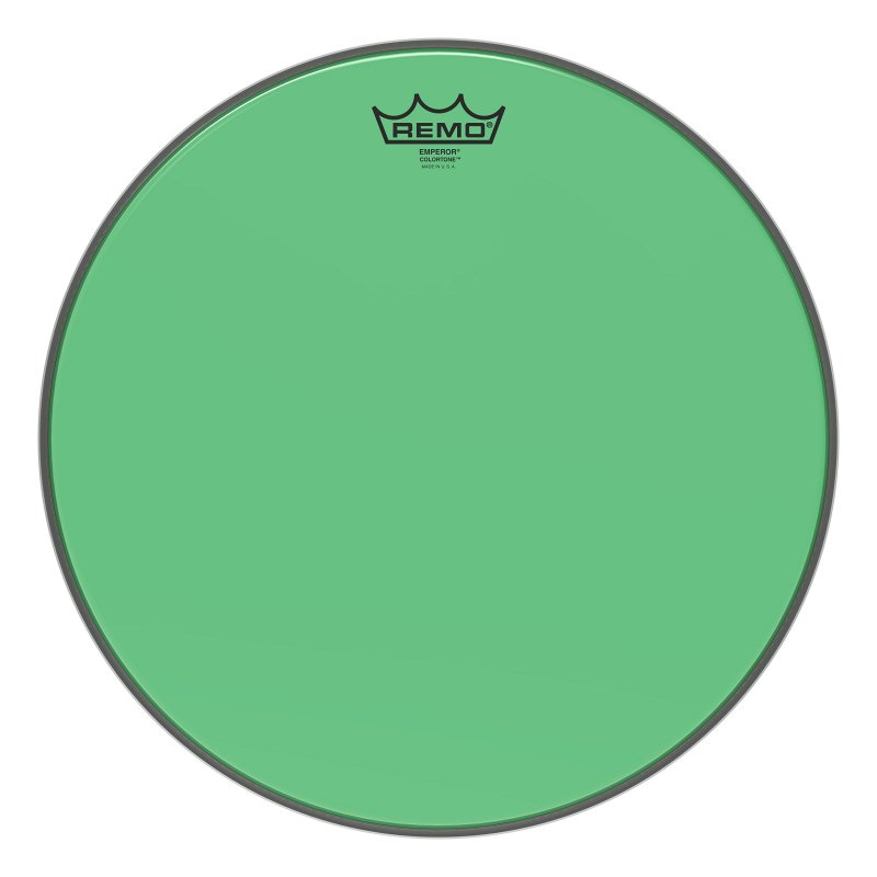 BE-0315-CT-GN Emperor® Colortone™ Green Drumhead, 15.