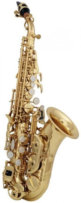 SG-302 саксофон сопрано Bb изогнутой формы