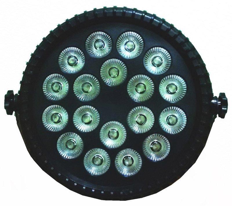 Light PSL-PAR LED 186 PL RGBWAUV