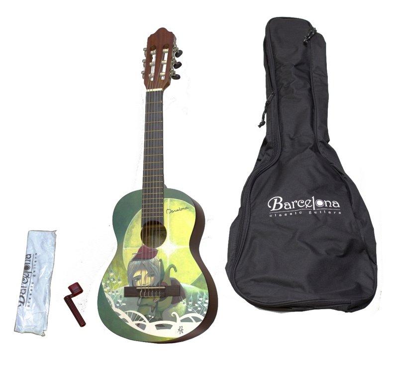 CG10K/AMI 1/4 - Набор: классическая гитара детская, размер 1/4 и аксессуары