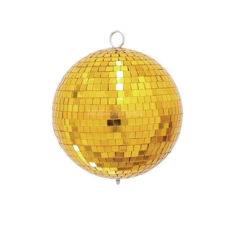 Light Зеркальный шар желтый 5 см