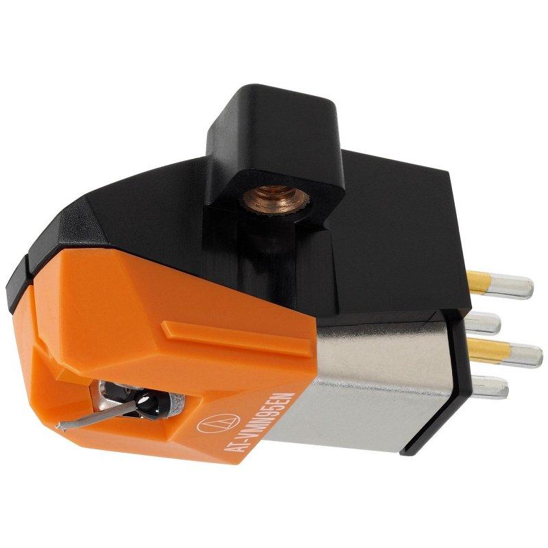 VM95EN Монолитная эллиптическая игла, цвет оранжевый