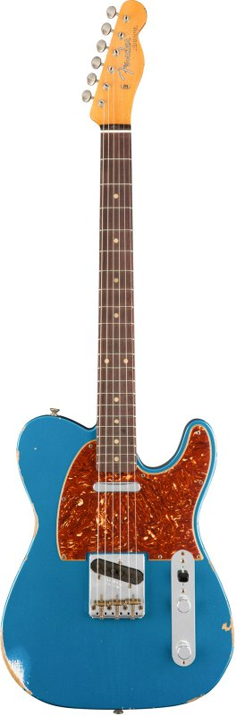 Custom Shop 1961 Relic Telecaster, Rosewood Fingerboard, Aged Lake Placid Blue