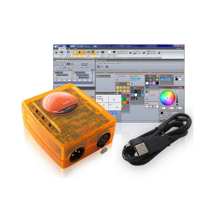 SUITE3-EC - USB/DMX-интерфейс, 1 DMX out+1DMX in, 2 Art-Net output