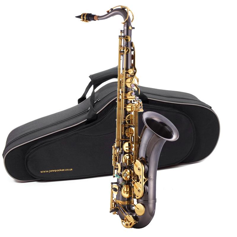 JP042B Саксофон тенор Bb, черный/золото