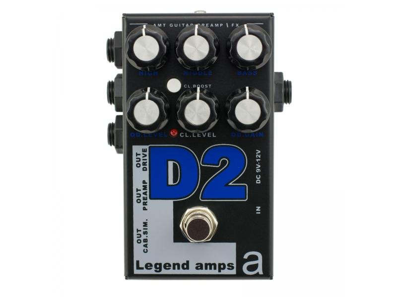 D-2 Legend Amps 2 Двухканальный гитарный предусилитель D2 (Diezel)
