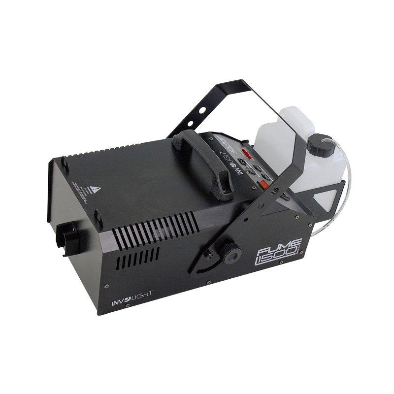 Fume1500DMX - Генератор дыма 1600Вт. Беспроводной пульт ДУ, DMX 512-1канал
