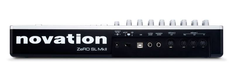 25 SL MkII USB MIDI , Fatar, 25 velocity-sensitive, semi-weighted . after-touch, 32