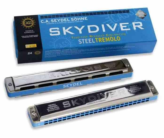 25480G Skydiver G Губная гармошка тремоло
