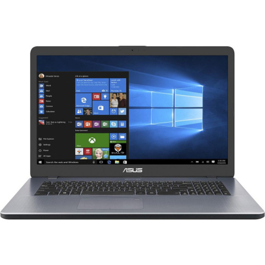 ASUS X705UB-GC265T BTS19 17.3`FHD/4417U/4GB/1TB/GF MX110 2GB/NOODD/WINDOWS 10 HOME/STAR GREY