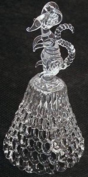 GH-M028 Колокольчик хрустальный «Мышка», средний фото