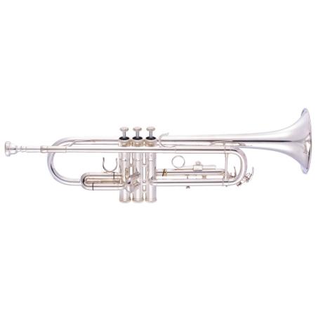 JP051S Труба Bb, посеребренная