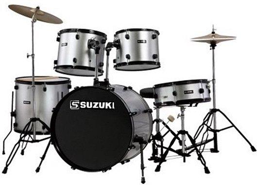 SDS-602S барабанная установка (14`12`13`16`22`) цвет серебристый