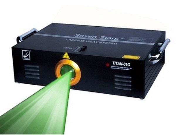 TITAN01G Лазерный проектор, анимационный, зеленый