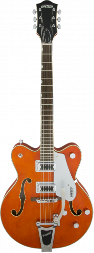 G5422T Electromatic® Hollow Body Double-Cut with Bigsby®, Orange Stain