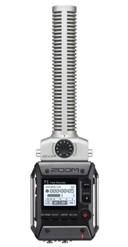 F1-SP полевой стереорекордер. В комплекте пушка SGH-6, виброподвес для крепления на камеру.